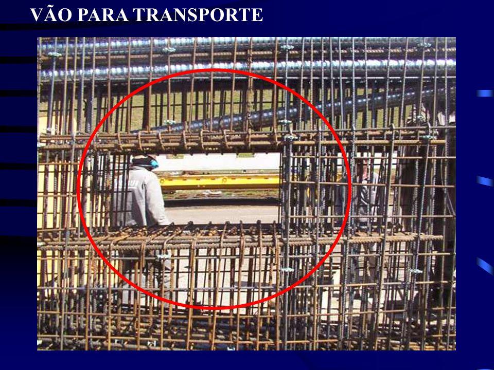 VÃO PARA TRANSPORTE