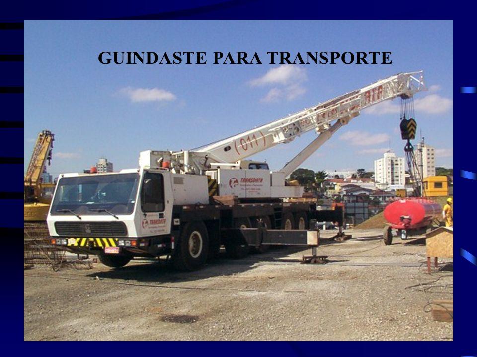 GUINDASTE PARA TRANSPORTE
