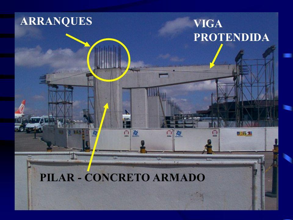 ARRANQUES VIGA PROTENDIDA PILAR - CONCRETO ARMADO