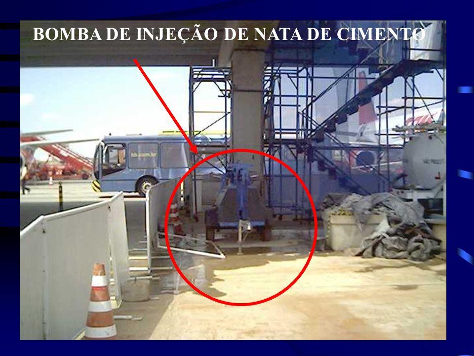 BOMBA DE INJEÇÃO DE NATA DE CIMENTO