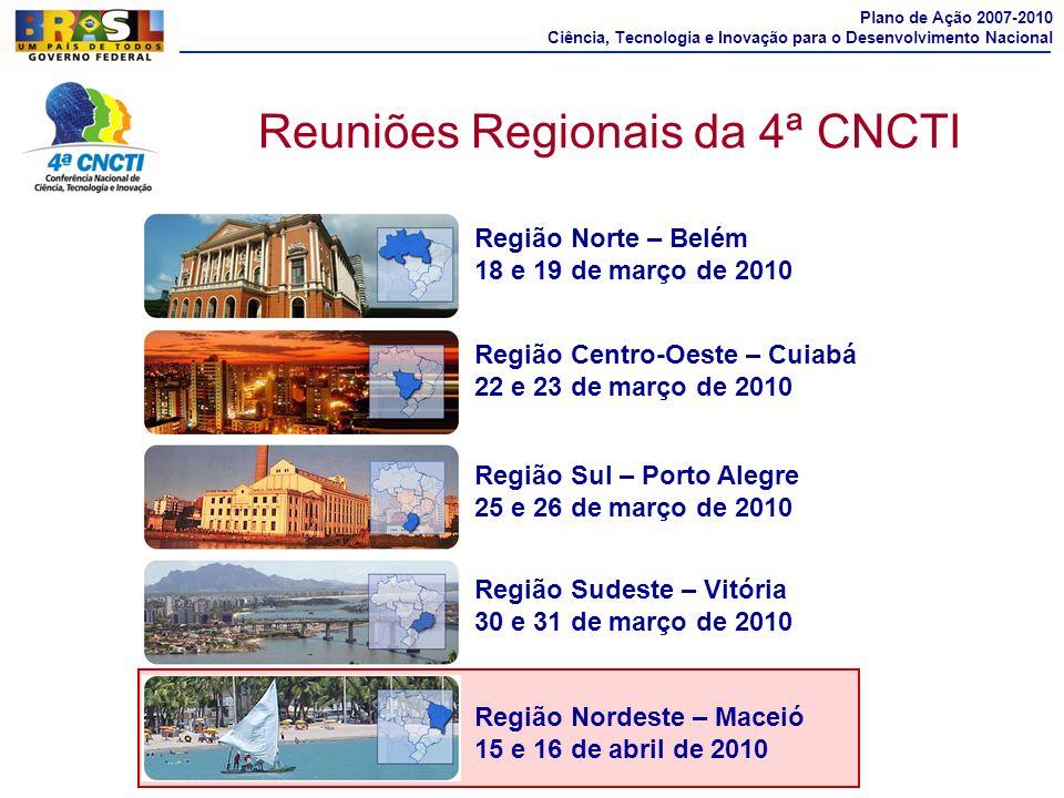 Reuniões Regionais da 4ª CNCTI