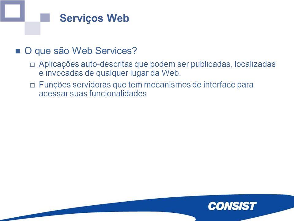 Serviços Web O que são Web Services