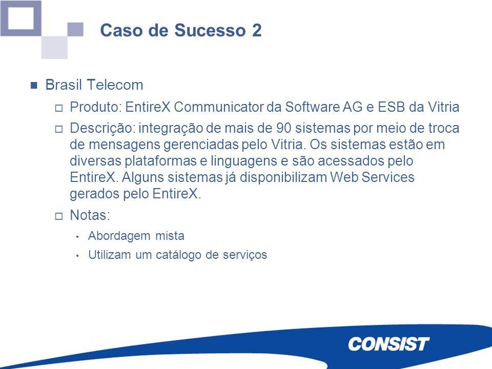 Caso de Sucesso 2 Brasil Telecom
