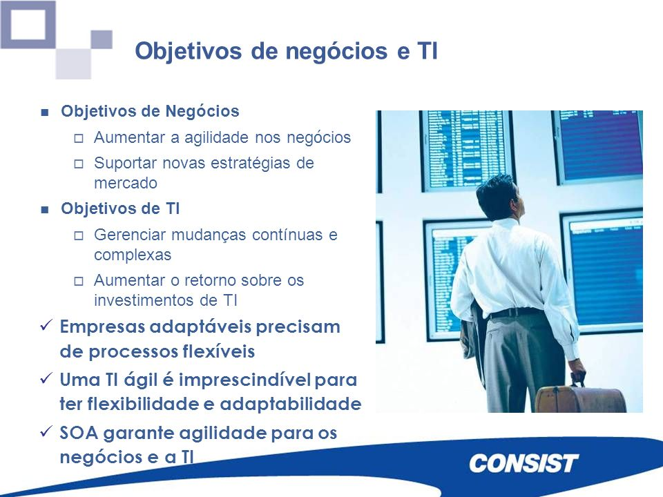 Objetivos de negócios e TI