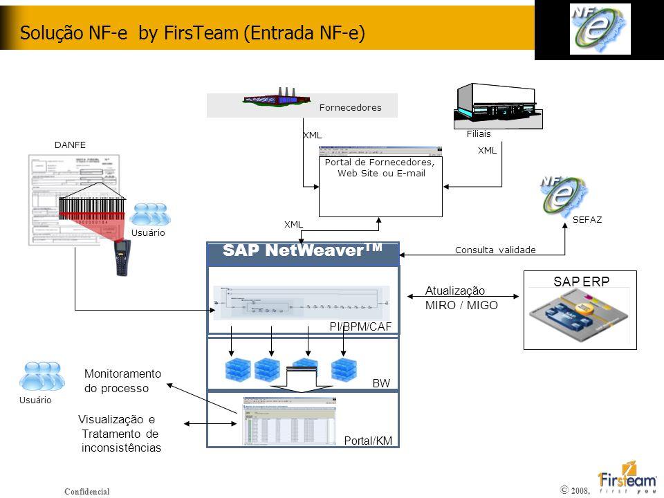 Solução NF-e by FirsTeam (Entrada NF-e)
