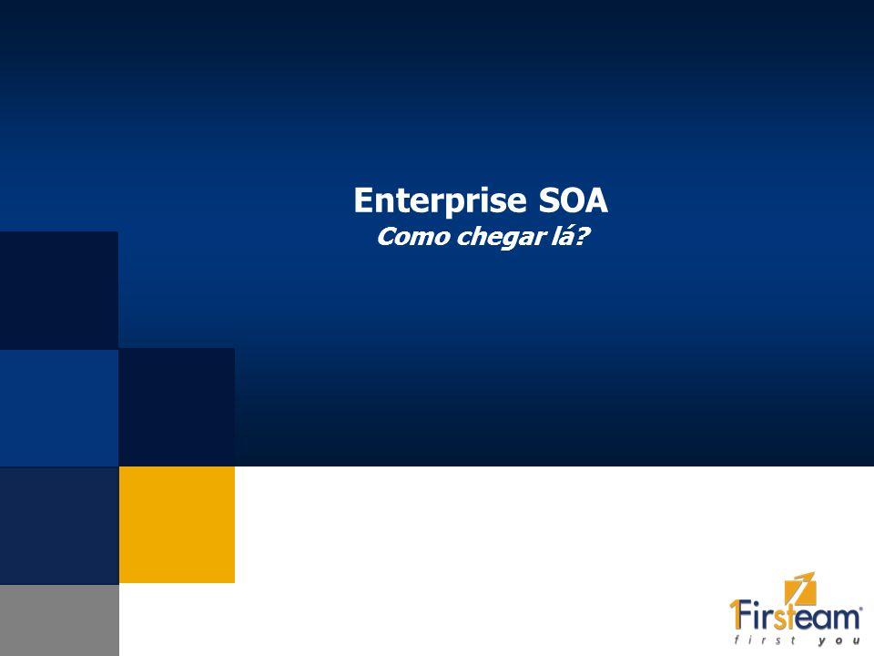 Enterprise SOA Como chegar lá