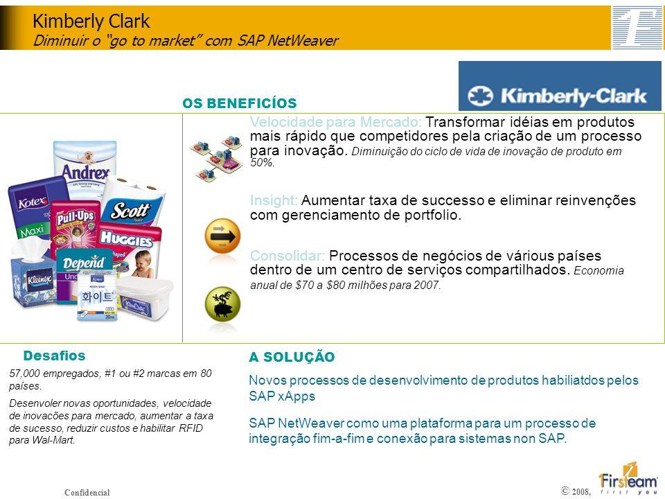 Kimberly Clark Diminuir o go to market com SAP NetWeaver