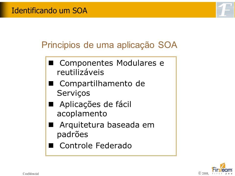 Principios de uma aplicação SOA