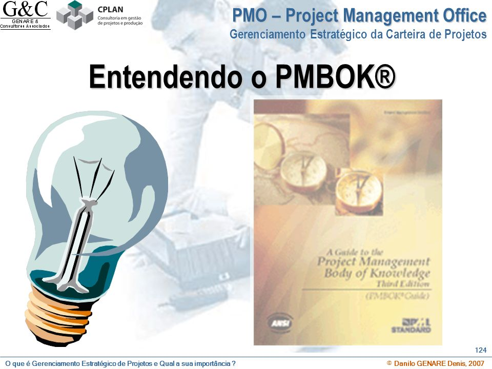 Entendendo o PMBOK® PMO – Project Management Office