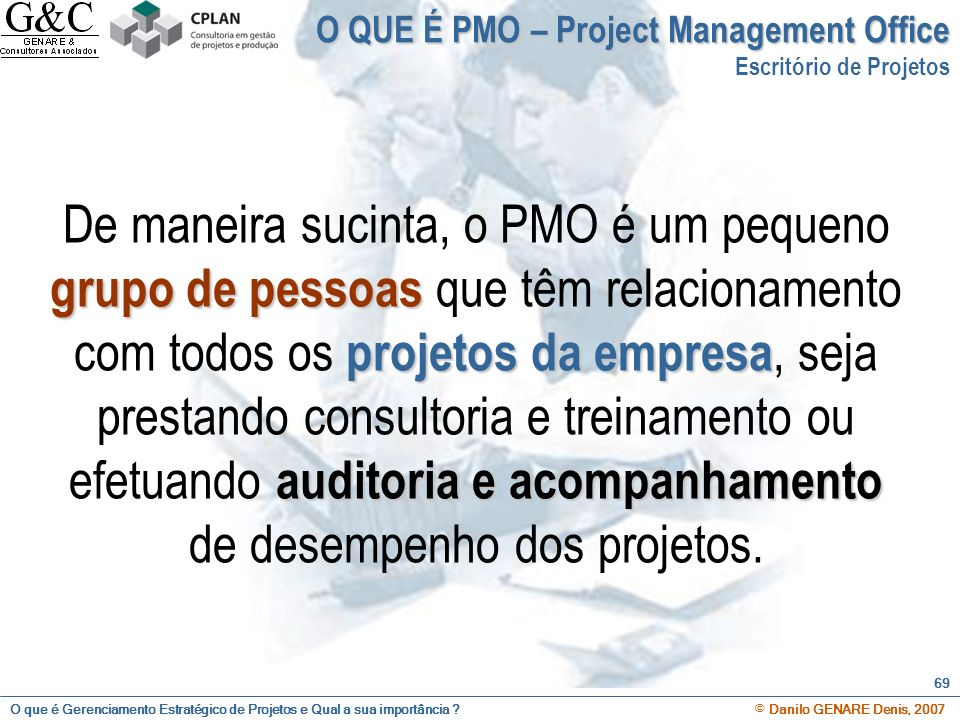 O QUE É PMO – Project Management Office