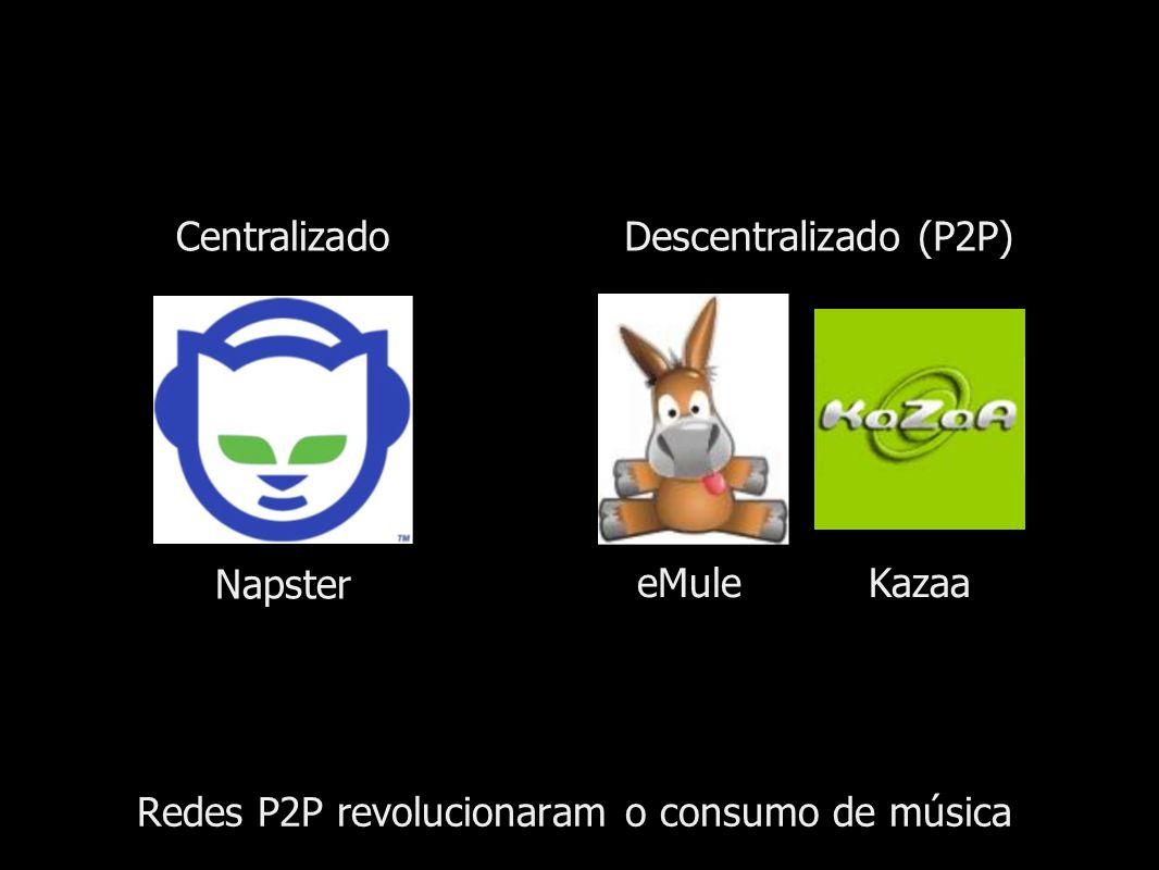 Redes P2P revolucionaram o consumo de música
