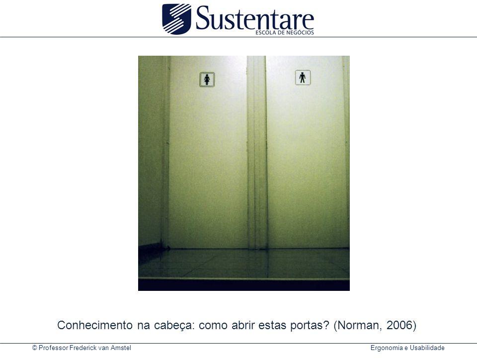 Conhecimento na cabeça: como abrir estas portas (Norman, 2006)