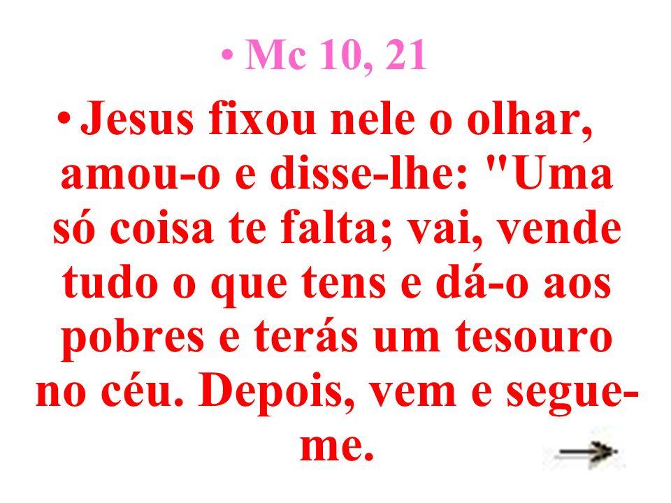 Mc 10, 21