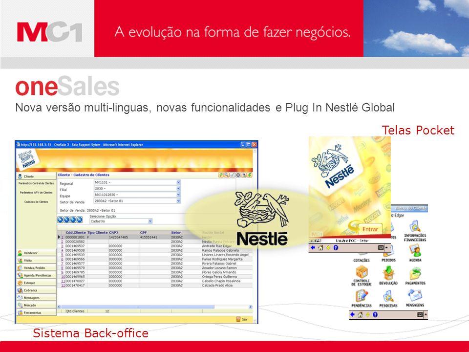 Nova versão multi-linguas, novas funcionalidades e Plug In Nestlé Global