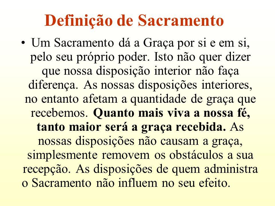 Definição de Sacramento