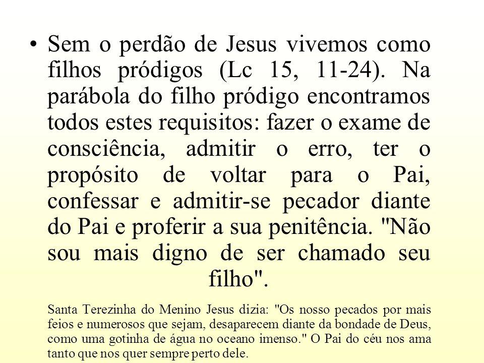 Sem o perdão de Jesus vivemos como filhos pródigos (Lc 15, 11-24)