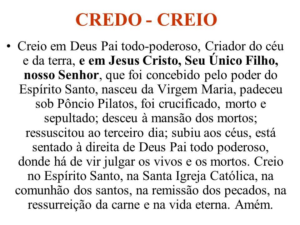 CREDO - CREIO