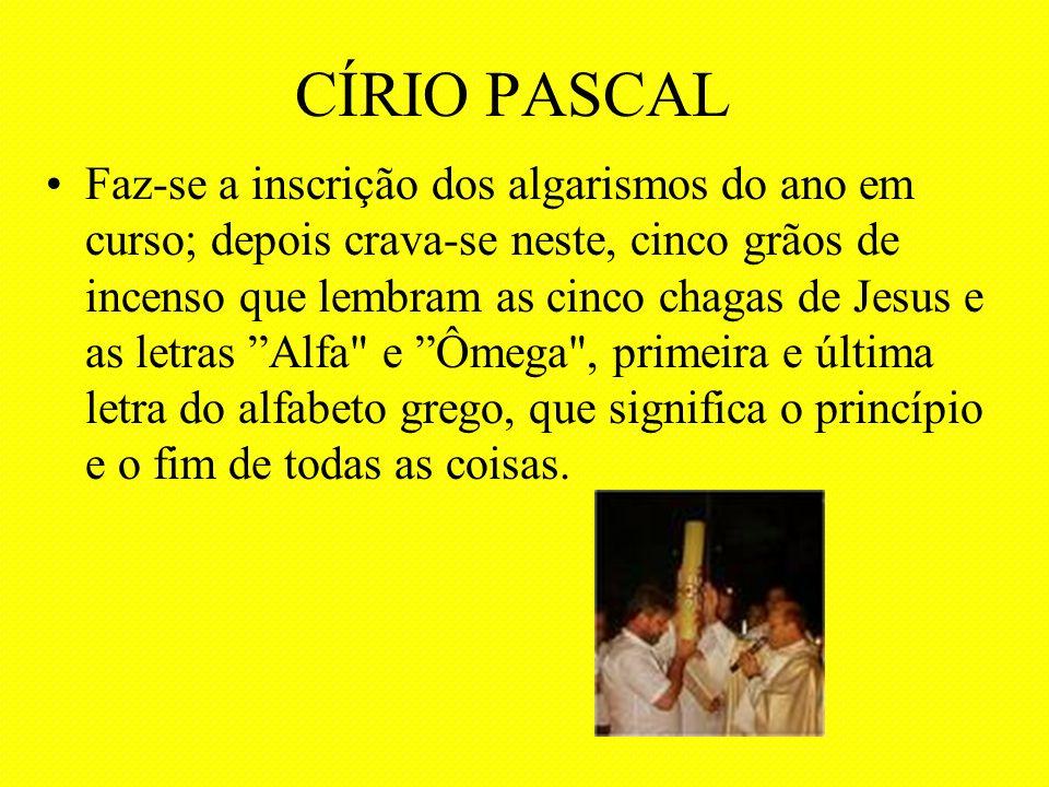 CÍRIO PASCAL