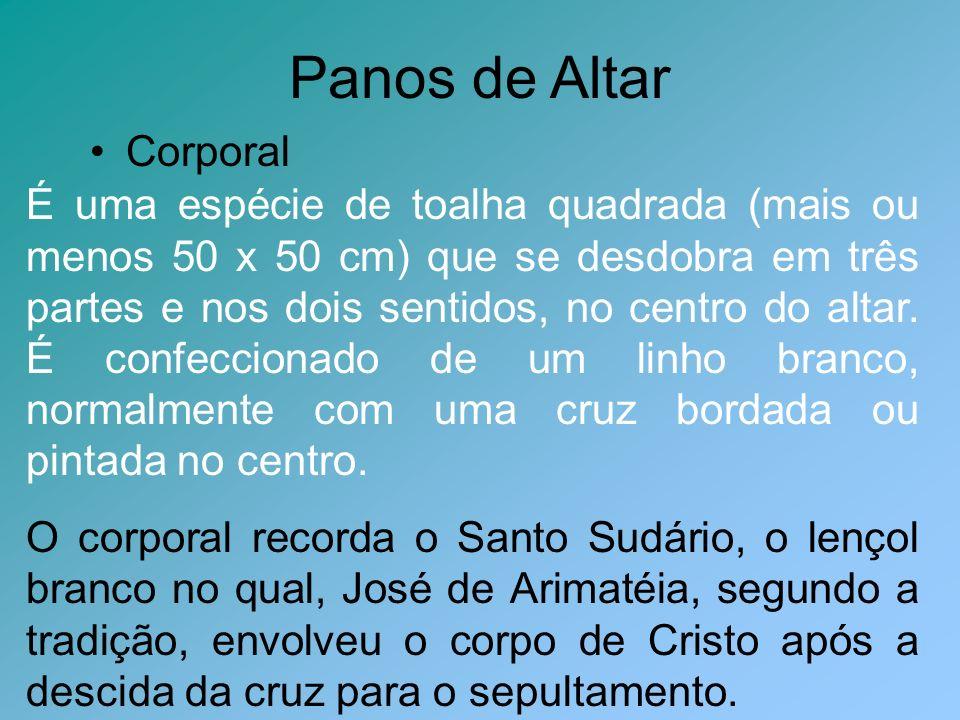 Panos de Altar Corporal
