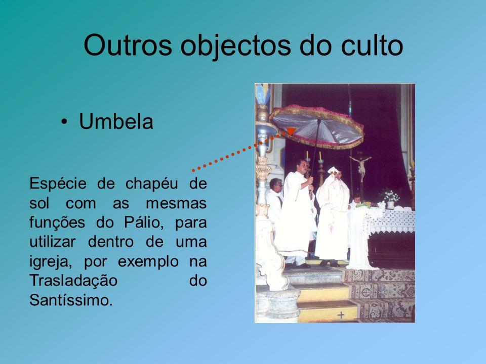 Outros objectos do culto