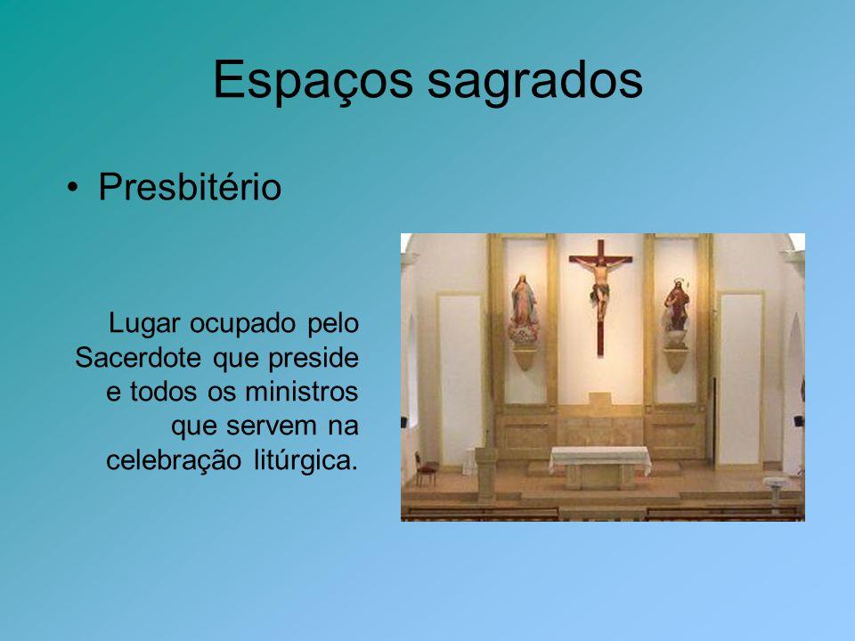 Espaços sagrados Presbitério