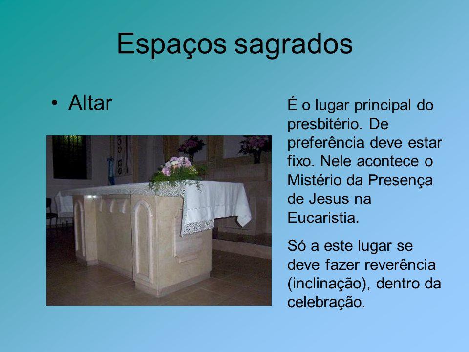 Espaços sagrados Altar