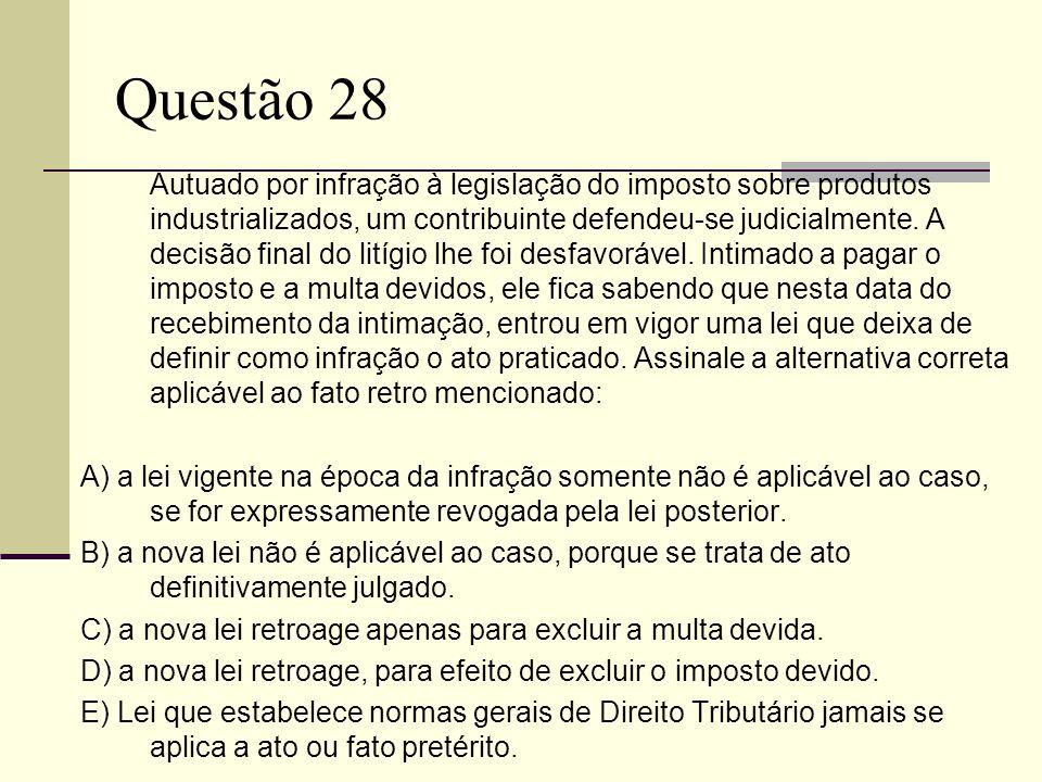 Questão 28