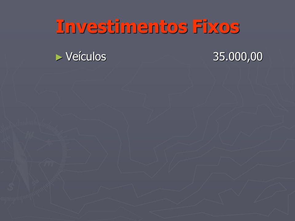 Investimentos Fixos Veículos 35.000,00