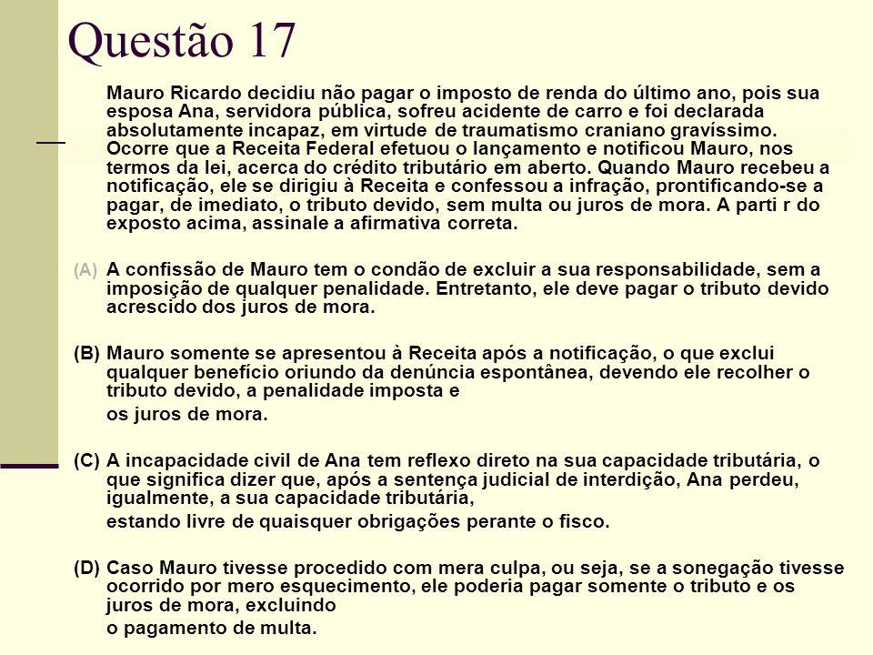 Questão 17