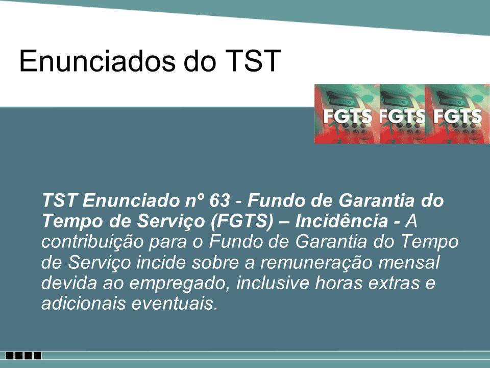 Enunciados do TST