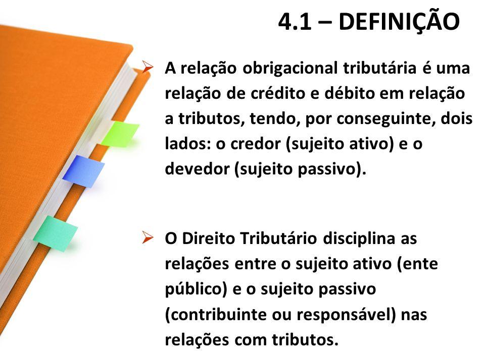 4.1 – DEFINIÇÃO