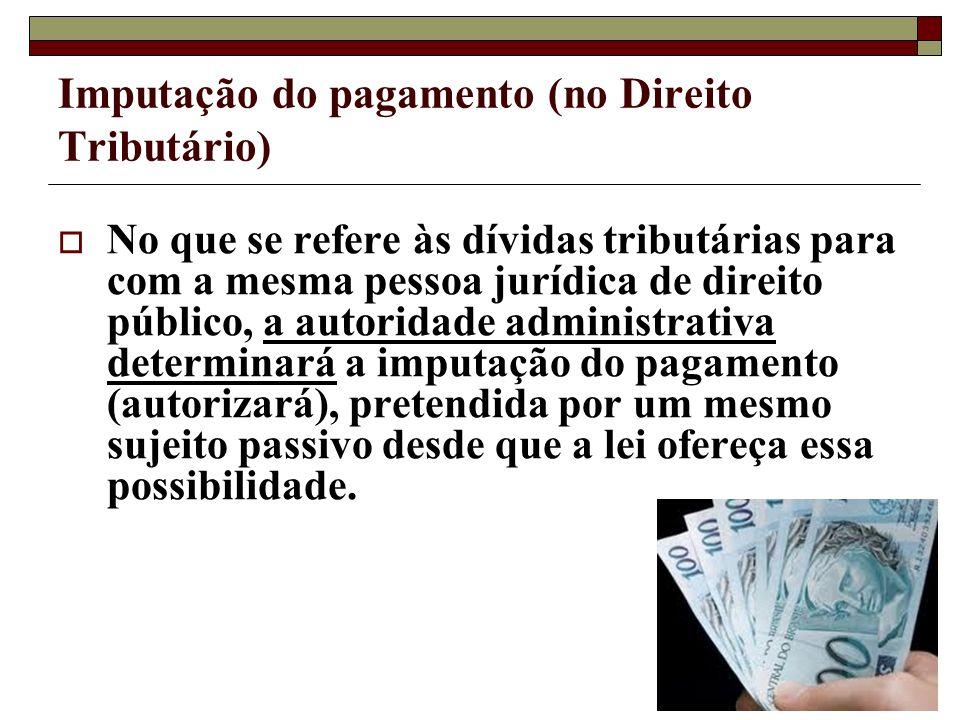 Imputação do pagamento (no Direito Tributário)