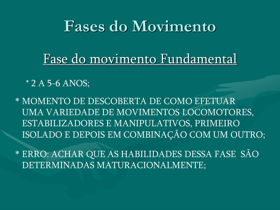 Fase do movimento Fundamental