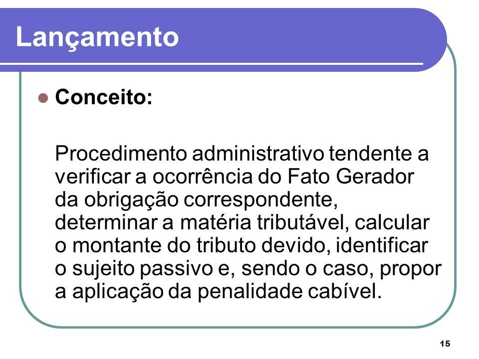Lançamento Conceito: