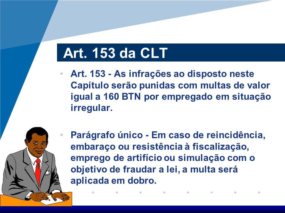 Art. 153 da CLT