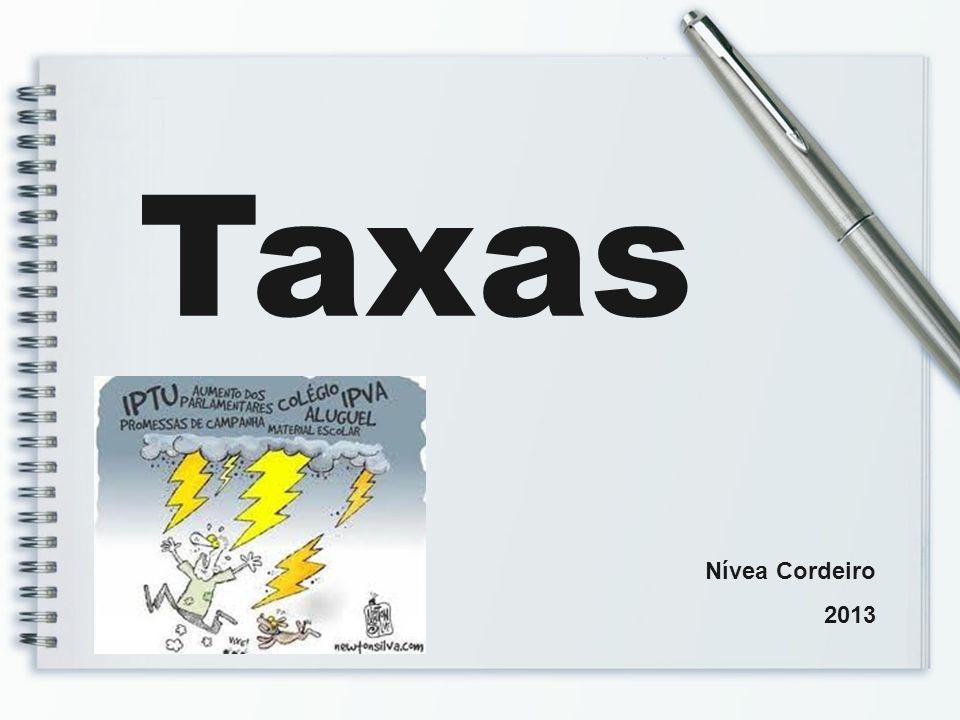 Taxas Nívea Cordeiro 2013