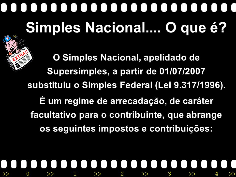 Simples Nacional.... O que é
