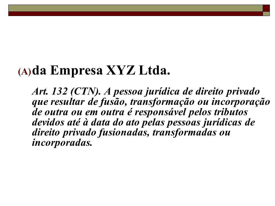da Empresa XYZ Ltda.