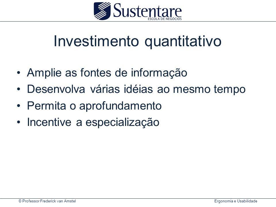 Investimento quantitativo