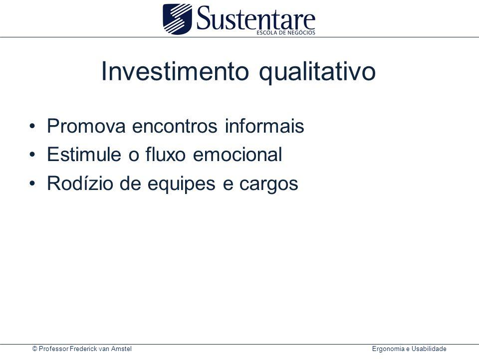Investimento qualitativo