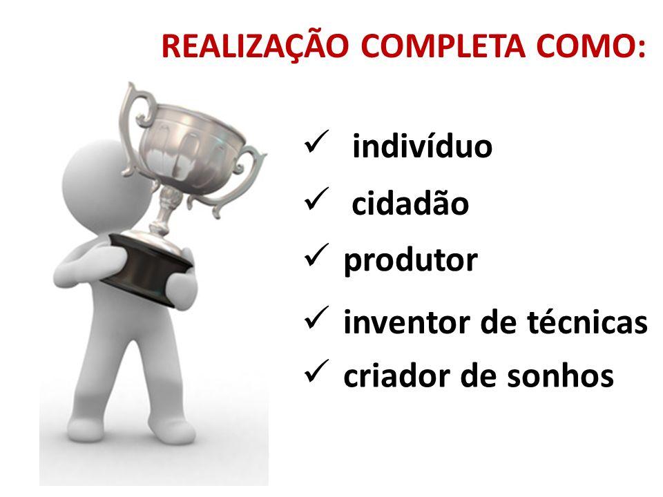 REALIZAÇÃO COMPLETA COMO:
