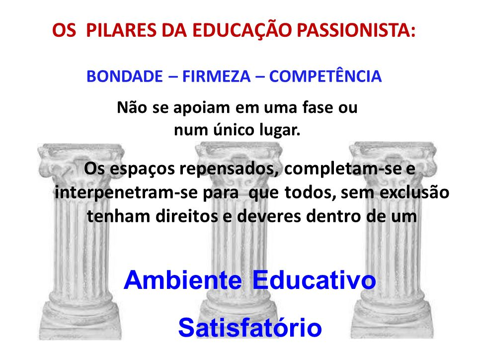 Ambiente Educativo Satisfatório