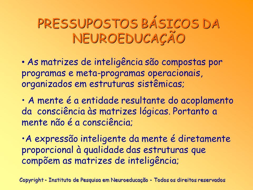 PRESSUPOSTOS BÁSICOS DA NEUROEDUCAÇÃO
