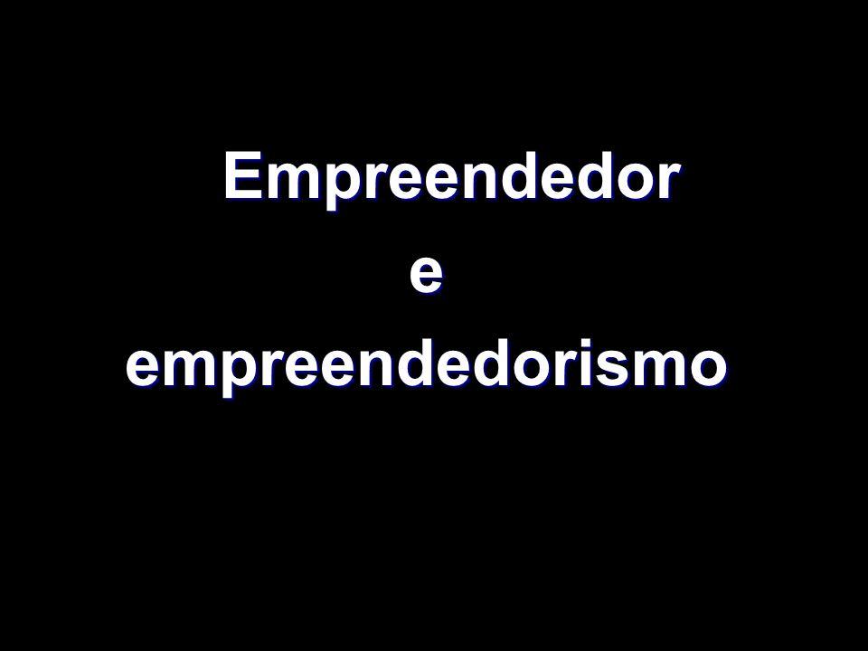 Empreendedor e empreendedorismo