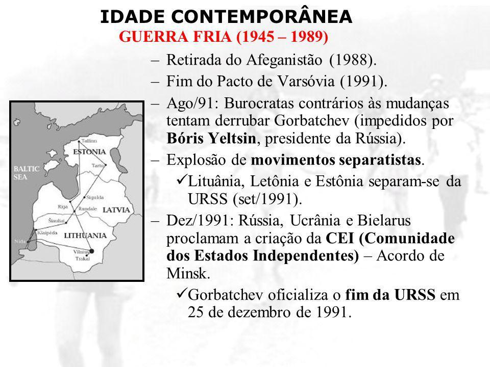 Retirada do Afeganistão (1988).