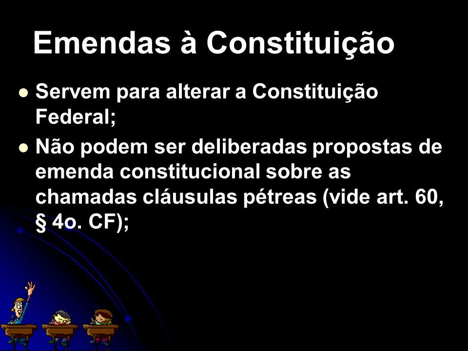 Emendas à Constituição