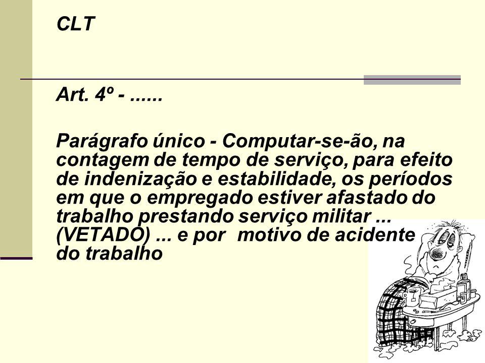 CLT Art. 4º - ......