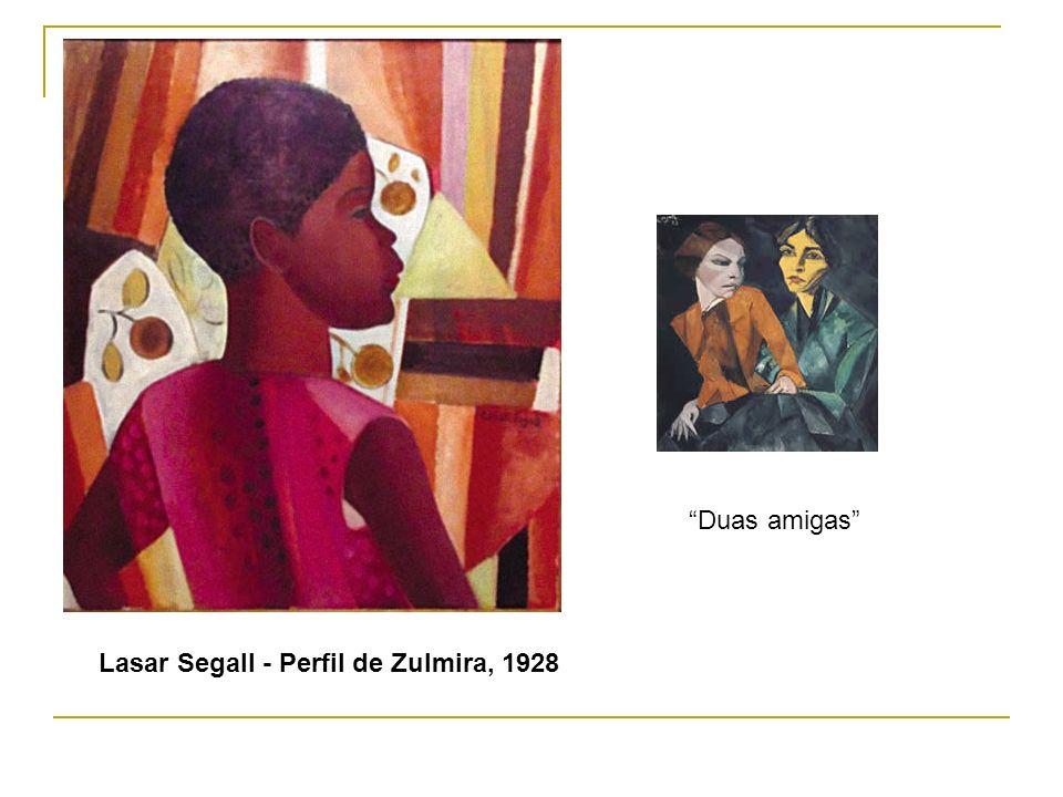 Duas amigas Lasar Segall - Perfil de Zulmira, 1928