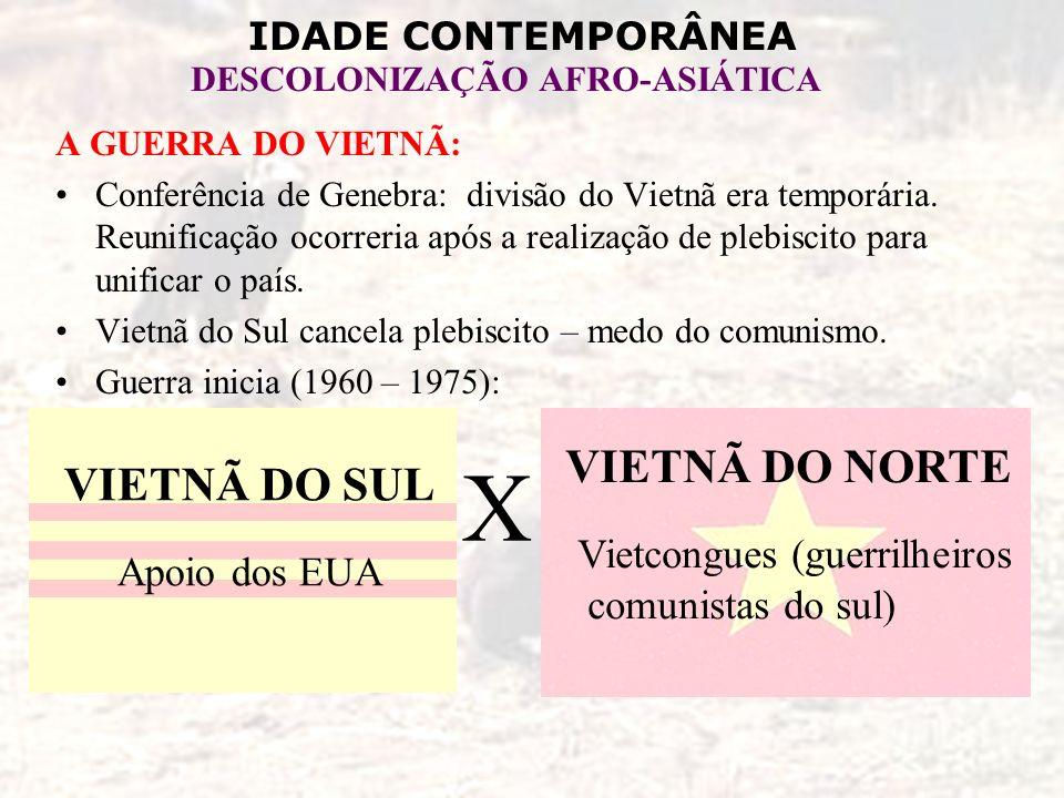 Vietcongues (guerrilheiros comunistas do sul)