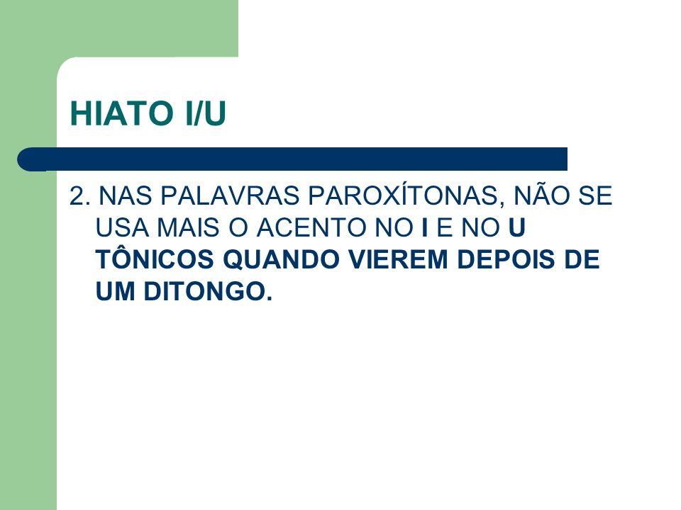 HIATO I/U 2.